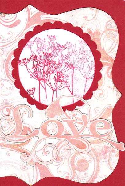 Love themed card