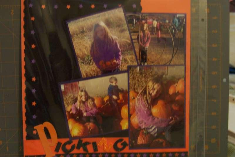 Picking Pumpkins page 1