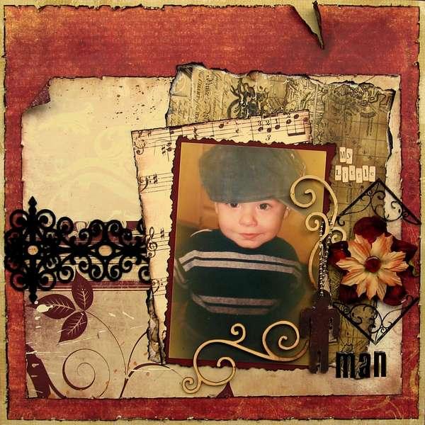 My little man ***Swirlydoos Kits ***