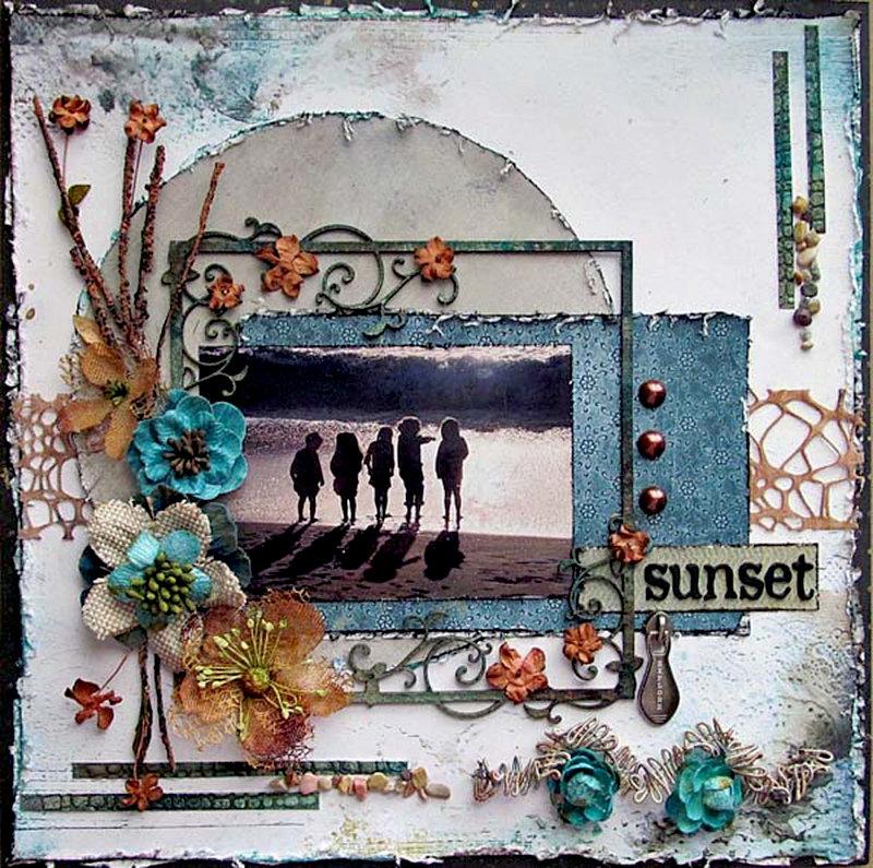 sunset - Swirlydoos
