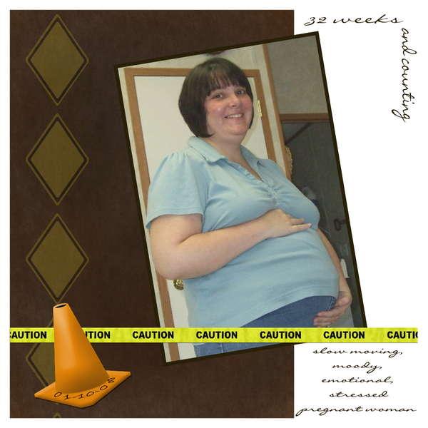 Caution Pregnant Woman