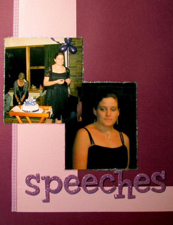 Speeches - Photos