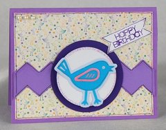 Birdie Birthday Card