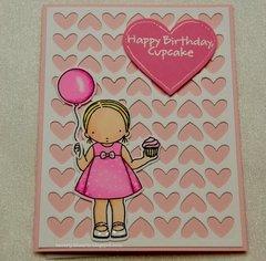 Cupcake Day Birthday Card