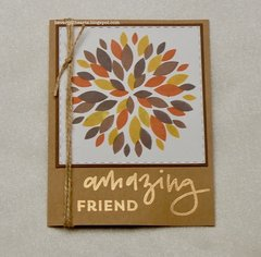 Amazing Friend Card