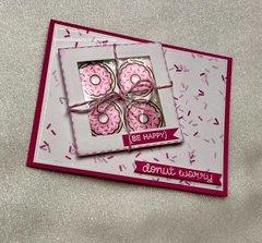 Donut Worry Card