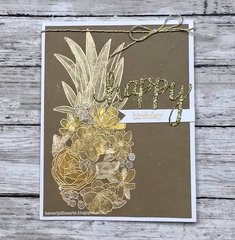 Gold on Kraft Pineapple
