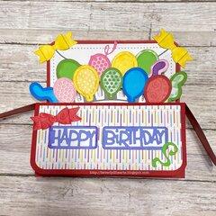 5x7 Birthday Box Card