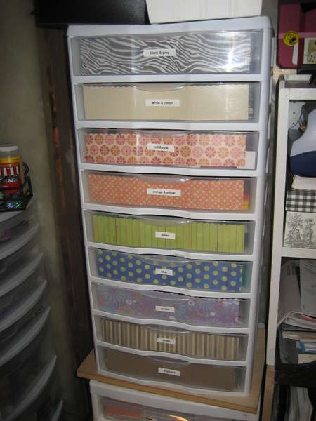 re-do of scrap paper drawer fronts