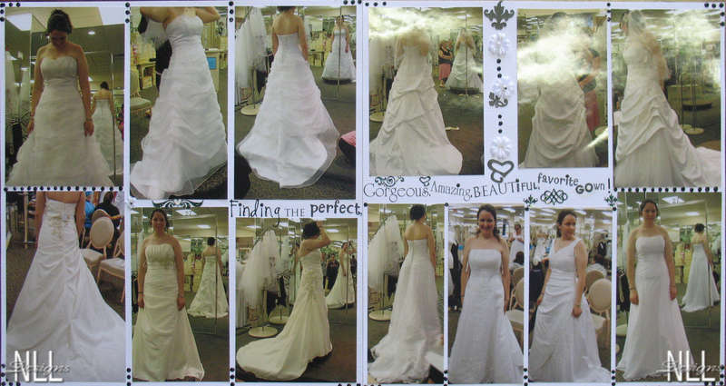 The search for the perfect dress