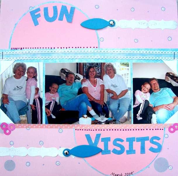 Fun Visits~ March 2009