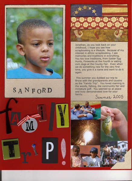 Sanford Family Trip