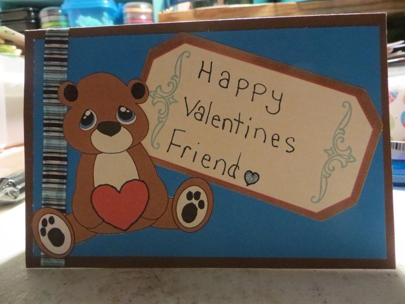 happy valentines friend