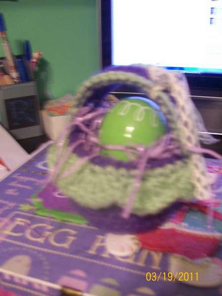 mini 1 egg easter basket