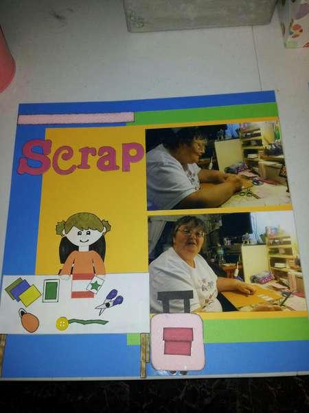 scrap- left page