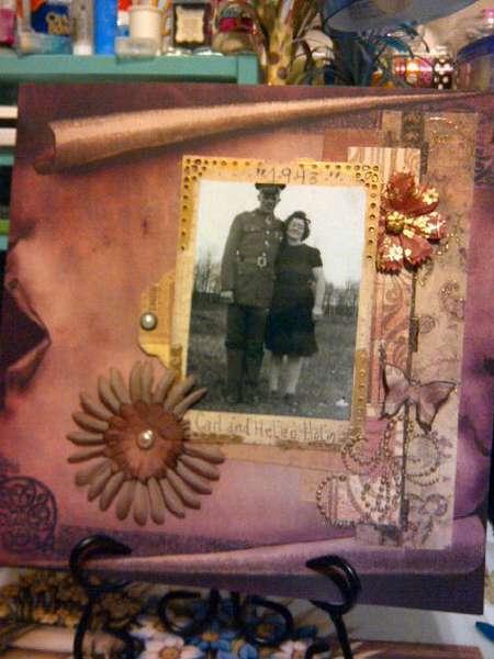 grandpa and grandma helm 1943