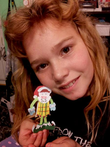 kiara and her sis elf