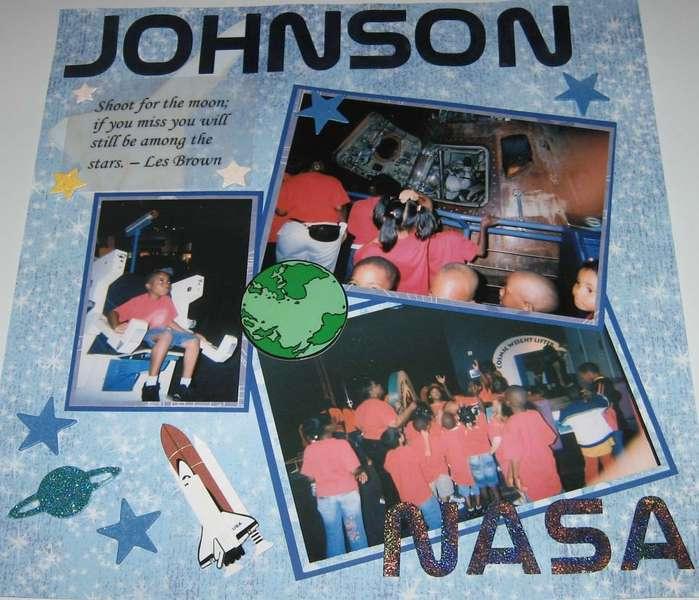 Johnson Space Center - Left