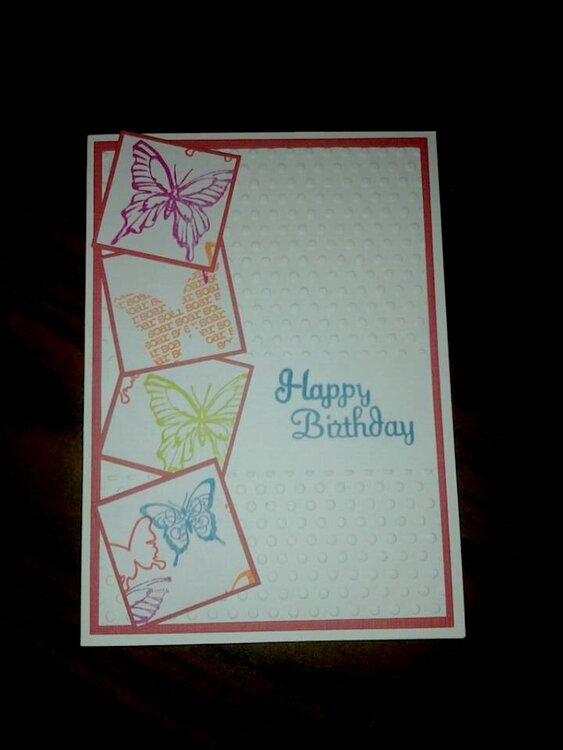 Birthday Card Series 2013