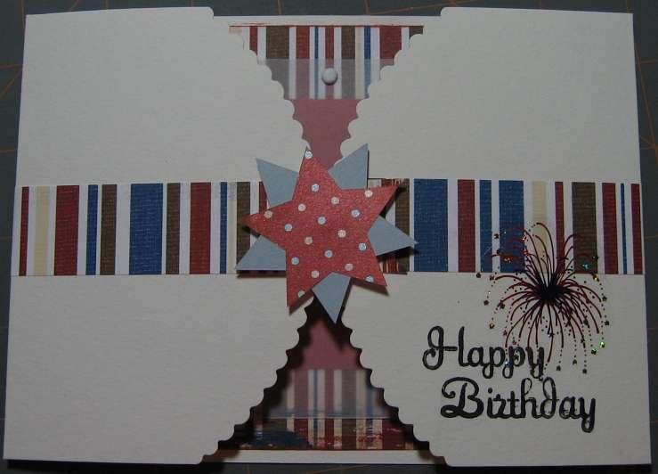 Scraplift - Sister's Birthday Card