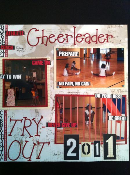 DSU Cheerleader 2011