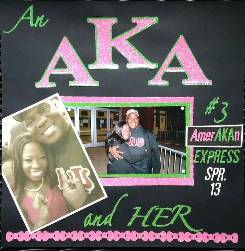 An AKA and her KAPPA Daddy