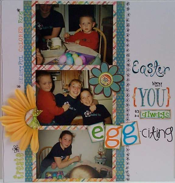 Easter with You is Always EGG-citing