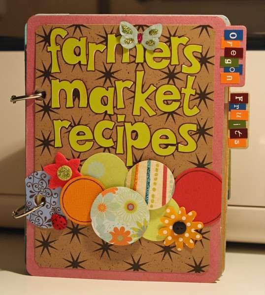 Farmer's Market Recipes Mini-Album