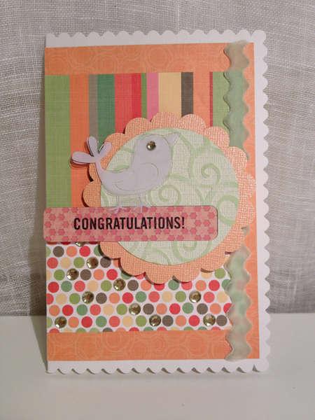 Congratulations! (Baby Card)