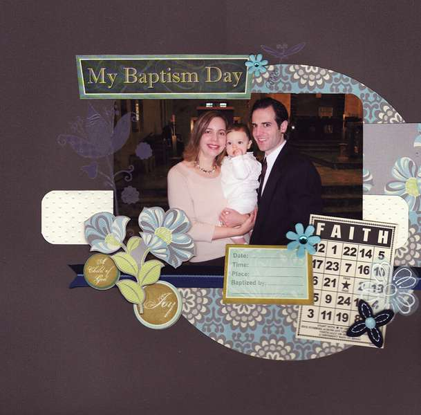 My Baptism Day