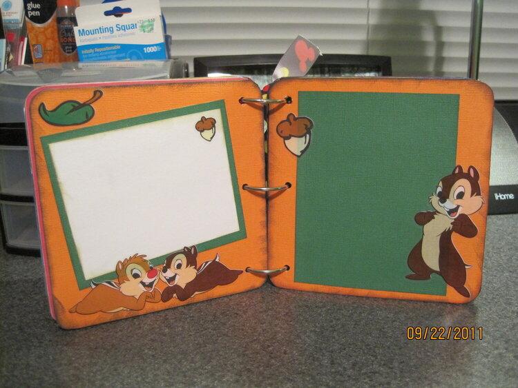 Rowdy's Disney Autoraphs Album