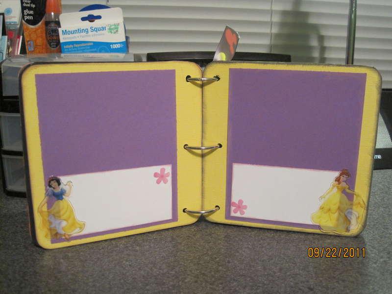 Rowdy's Disney Scrapbook