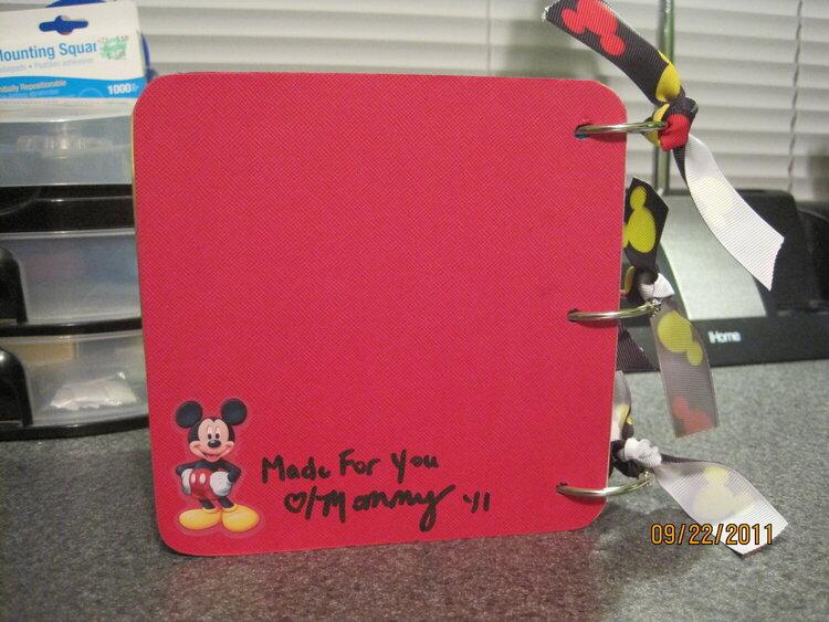 Rowdy's Disney Autographs Album