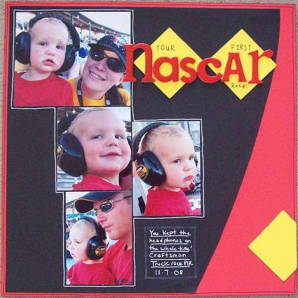 Your First Nascar Race