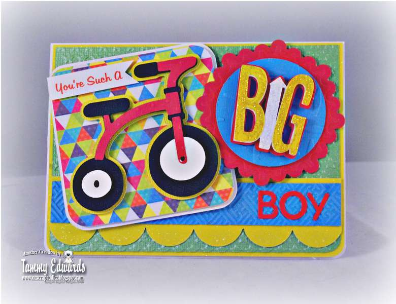 You're Such a Big Boy Birthday Card