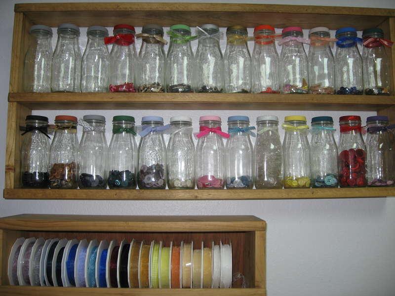 Altered Starbucks Frappucino bottles