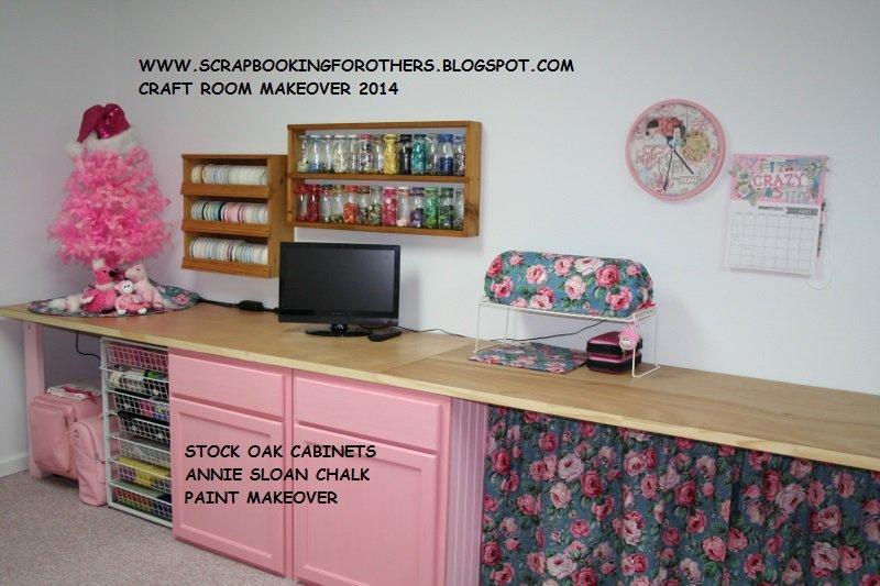 Scrapbook Room Makeover 2014