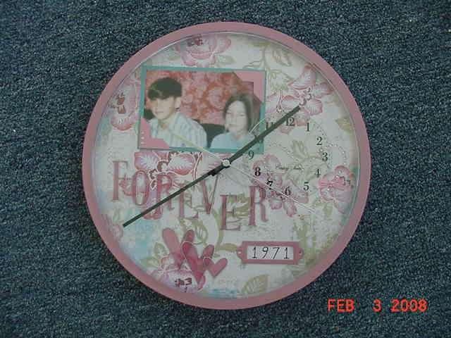 Altered Heidi Swapp Clock