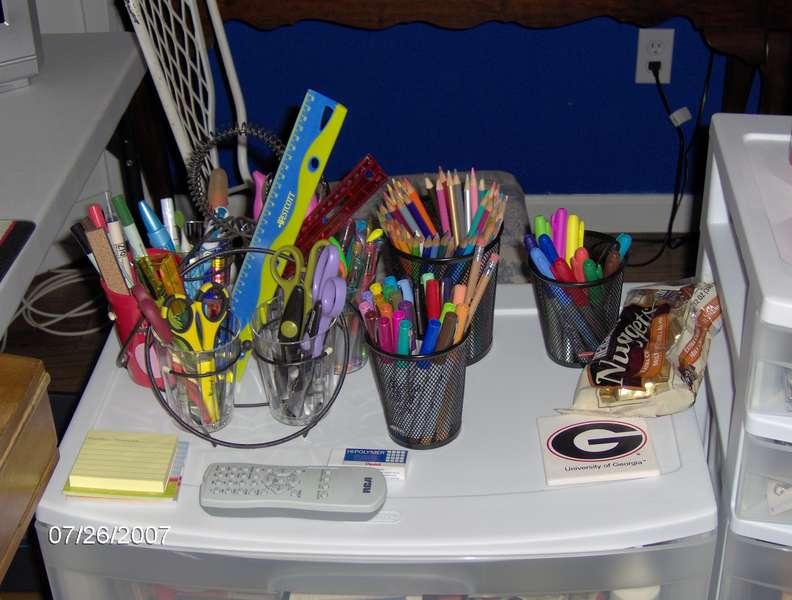 Tools, pens, pencils