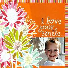 I love your smile (Al Fresco)