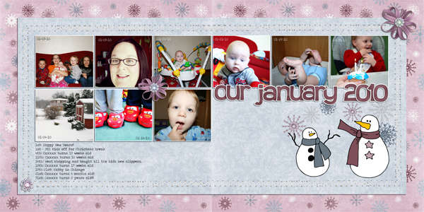 Our January 2010