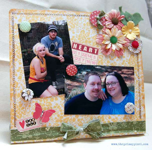Magnetic Photo Board
