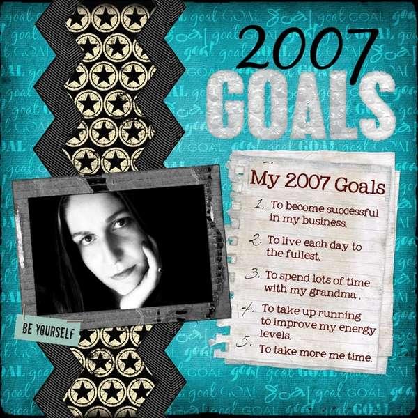 2007 Goals - ADSR#4
