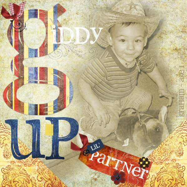 Giddy Up Lil' Partner