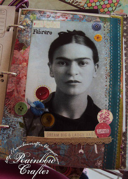 Frida Kahlo Daily Planner