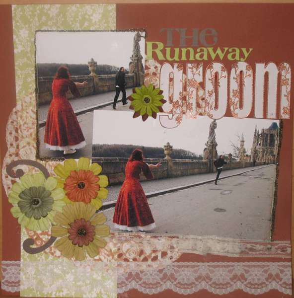 The runaway Groom