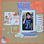 Six featuring Sarah Jane from Making Memories