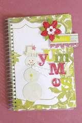 Making Memories Mistletoe Recipe Book Kit