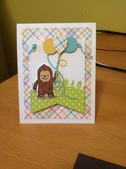 Father's Day Bigfoot card