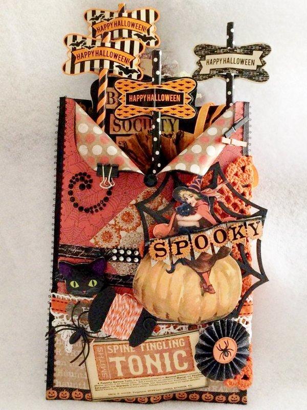 vintage halloween Loaded Envelope